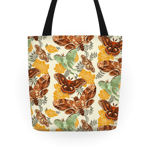 Moths & Marigolds Tote