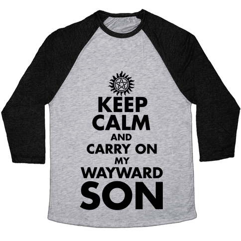 Carry On My Wayward Son Baseball Tee