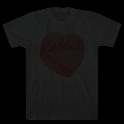 Single Conversation Heart Mens T-Shirt