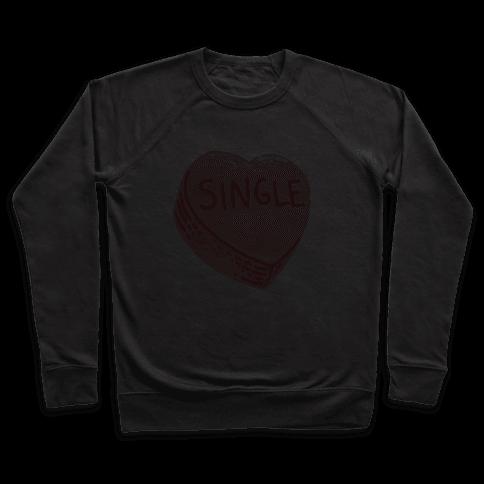 Single Conversation Heart Pullover