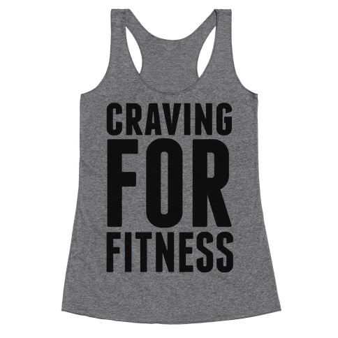 Craving for Fitness Racerback Tank Top