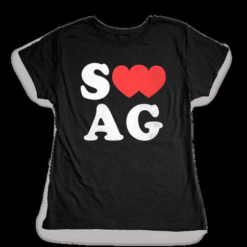 Swag Love Womens T-Shirt