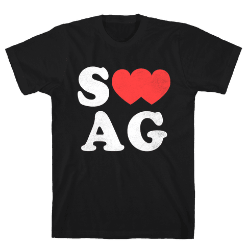 Swag Love Mens T-Shirt