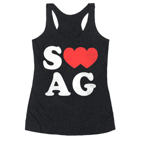 Swag Love Racerback Tank Top