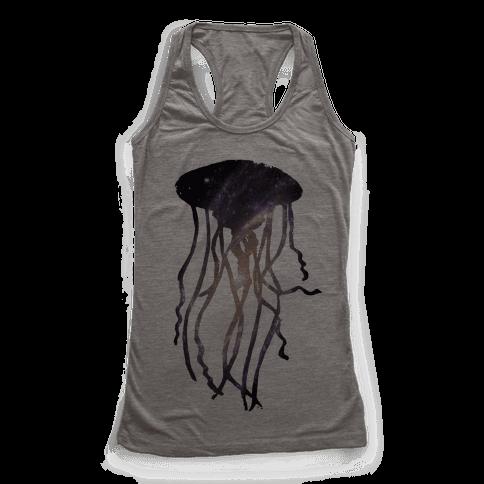 Galactic Jellyfish Racerback Tank Top