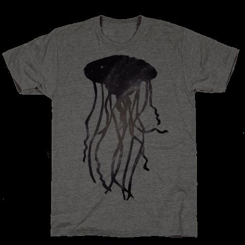 Galactic Jellyfish Mens T-Shirt