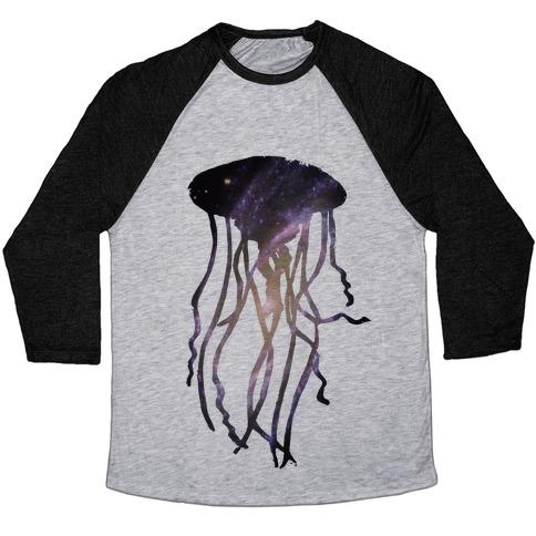 Galactic Jellyfish Baseball Tee