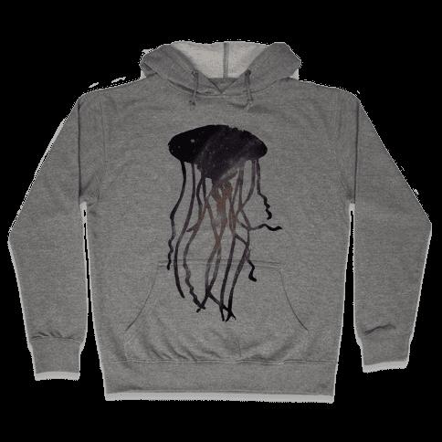 Galactic Jellyfish Hooded Sweatshirt
