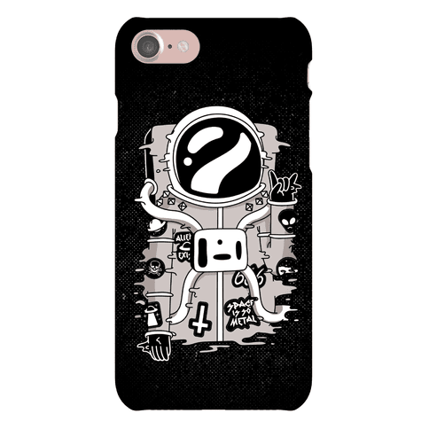 Space Is So Metal Phone Case