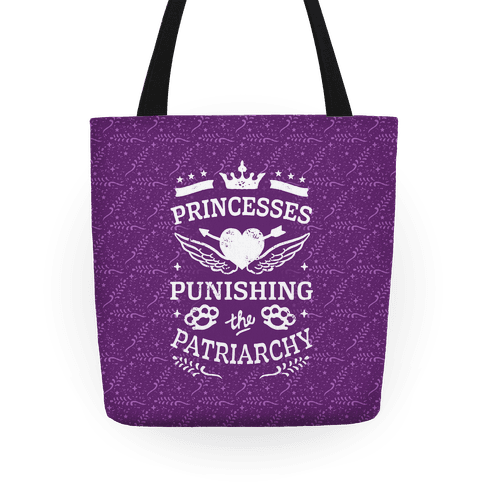Princesses Punishing The Patriarchy Tote
