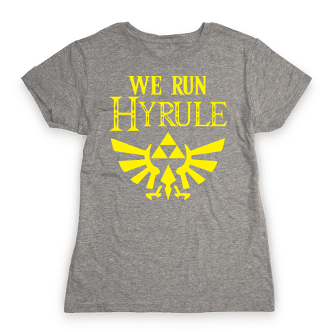 We Run Hyrule Womens T-Shirt