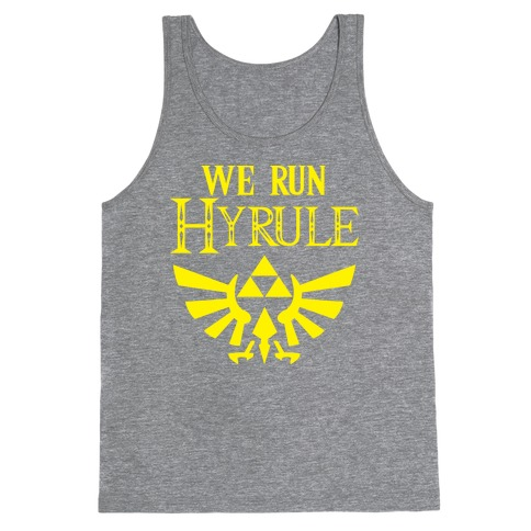 We Run Hyrule Tank Top