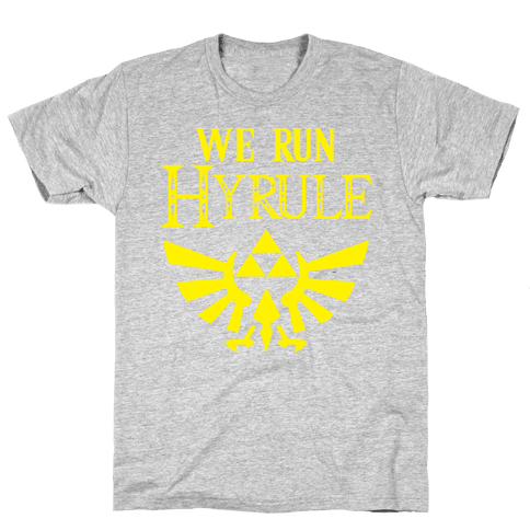 We Run Hyrule Mens T-Shirt
