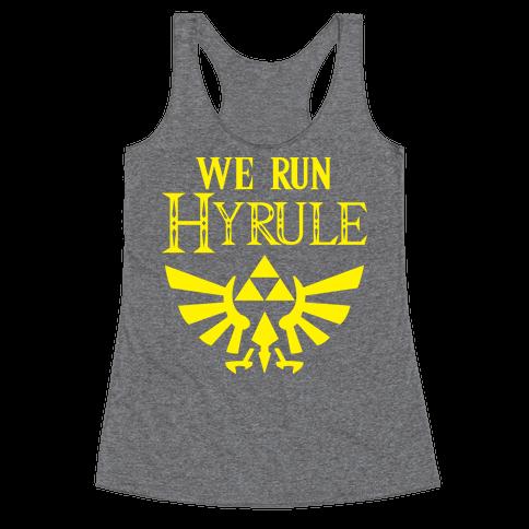 We Run Hyrule Racerback Tank Top