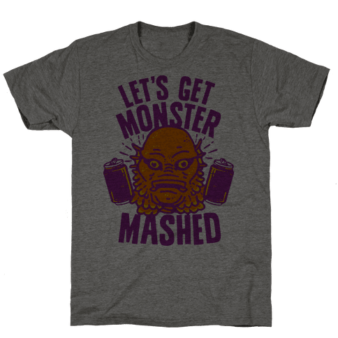 Let's Get Monster Mashed Mens T-Shirt
