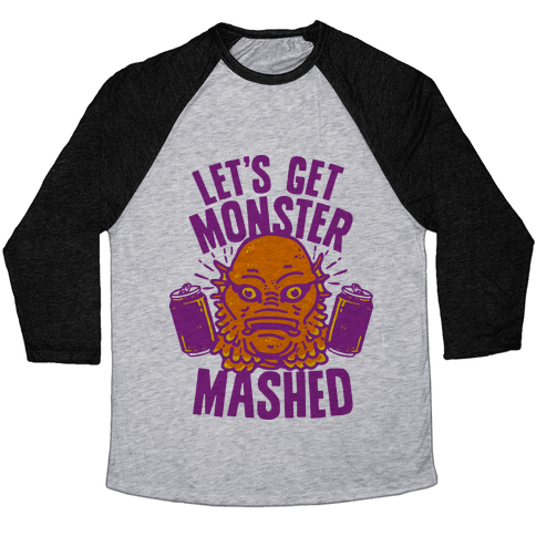 Let's Get Monster Mashed Baseball Tee
