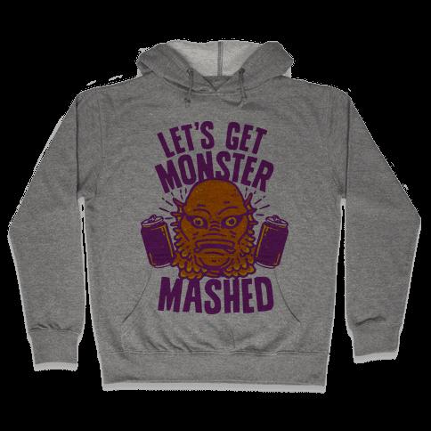 Let's Get Monster Mashed Hooded Sweatshirt