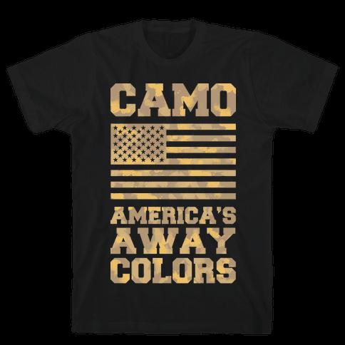 America's Away Colors Mens T-Shirt
