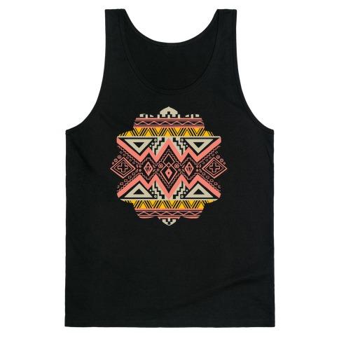Aztec Mandala Tank Top