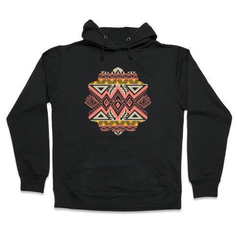 Aztec Mandala Hooded Sweatshirt