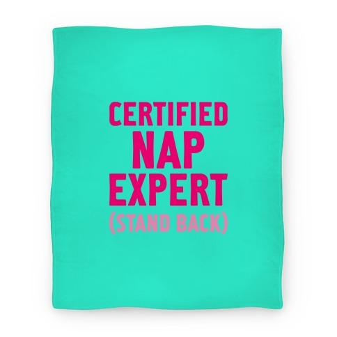 Certified Nap Expert Blanket