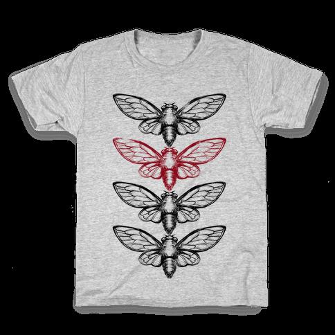 4 Cicadas Kids T-Shirt