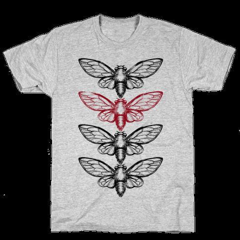 4 Cicadas Mens T-Shirt