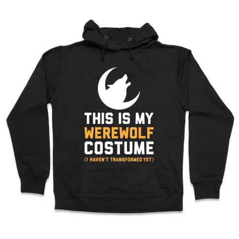 Werewolf Costume Hooded Sweatshirt