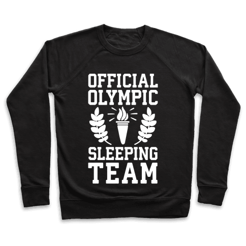 Official Olympic Sleeping Team Pullover