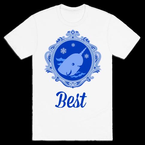 Narwhal Cameo Mens T-Shirt