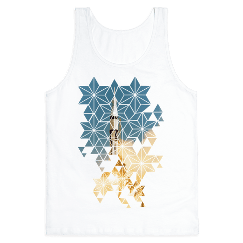 Apollo 7 Lauch Sequence Tank Top