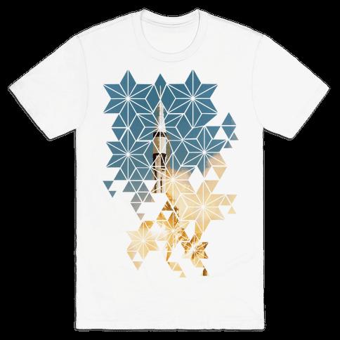Apollo 7 Lauch Sequence Mens T-Shirt