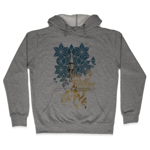 Apollo 7 Lauch Sequence Hooded Sweatshirt