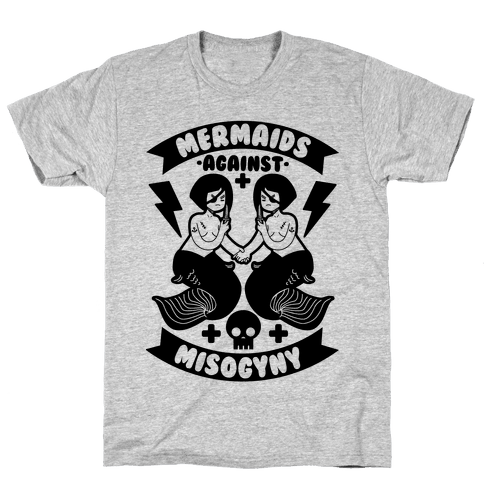 Mermaids Against Misogyny Mens T-Shirt