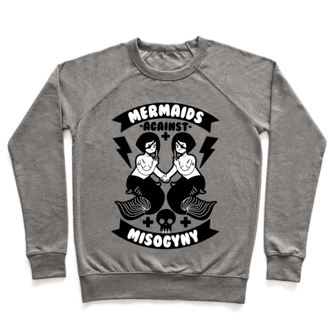Mermaids Against Misogyny Pullover