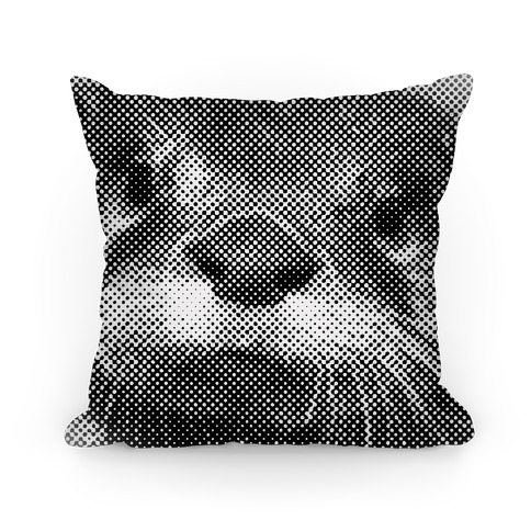 Otter Face Pillow