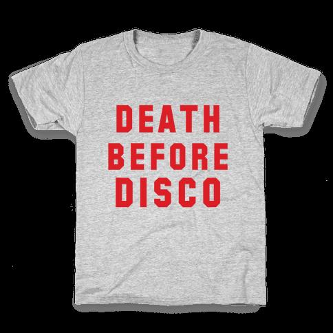Death Before Disco Kids T-Shirt