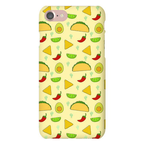 Mexican Food Pattern Phone Case