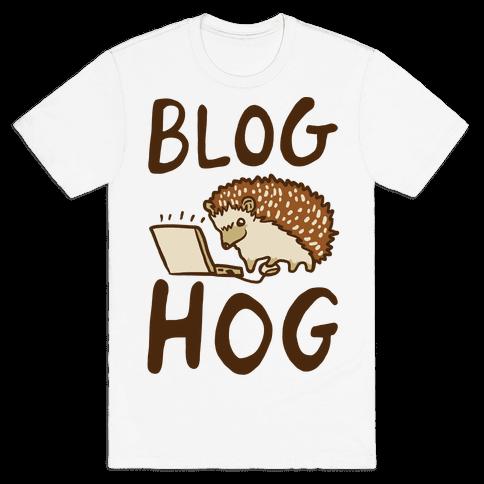 Blog Hog Mens T-Shirt