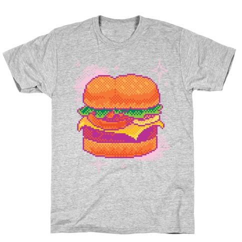 Pixel Burger T-Shirt
