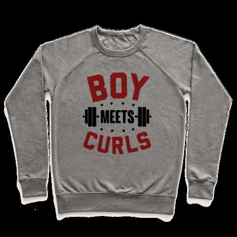 Boy Meets Curls Pullover