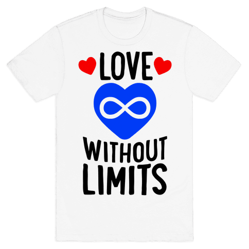 Love Without Limits Mens T-Shirt