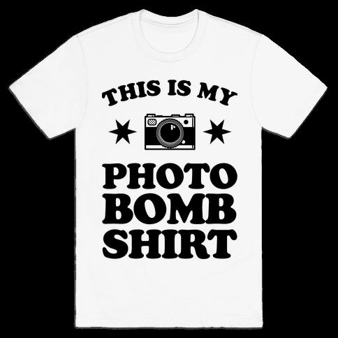My Photo Bomb Shirt Mens T-Shirt