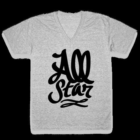 All Star V-Neck Tee Shirt