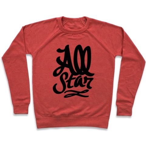 cd630dbead2 All Star Crewneck Sweatshirt | LookHUMAN