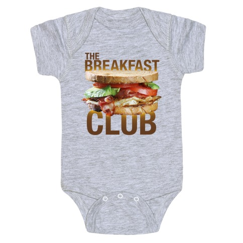 The Breakfast Club Baby Onesy