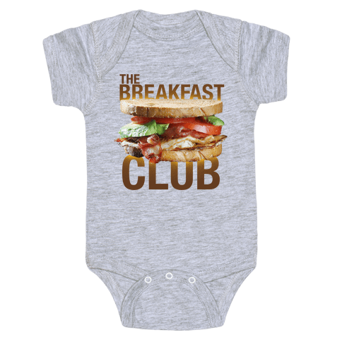 The Breakfast Club Baby Onesy