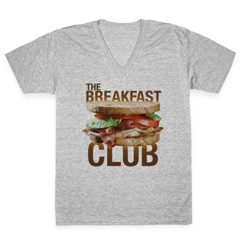 The Breakfast Club V-Neck Tee Shirt