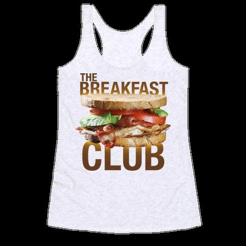 The Breakfast Club Racerback Tank Top