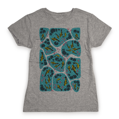 Koi Ponds Womens T-Shirt